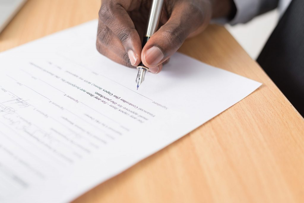 Contract Signing Civil Litigation